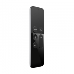 Apple TV Remote IR Wireless Touch Screen_pulsanti Nero_ Argento MG2Q2Z_A.png